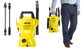 3-day only Win a Karcher K2 Compact Pressure Washer