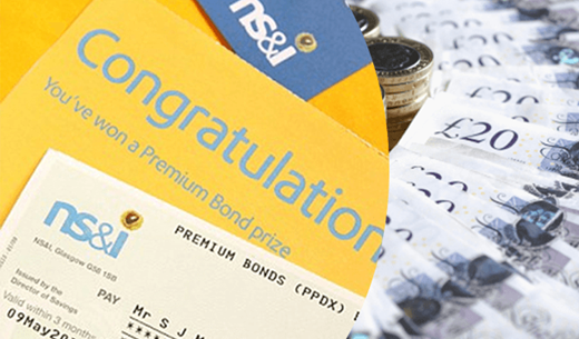 Win £500 to spend on Premium Bonds