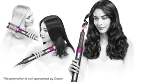 Beauty lover needed to test a Dyson Airwrap hair curler
