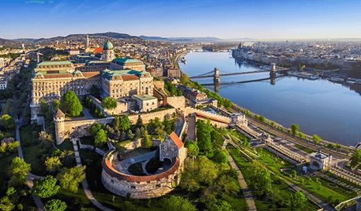 Win a relaxing break in Budapest