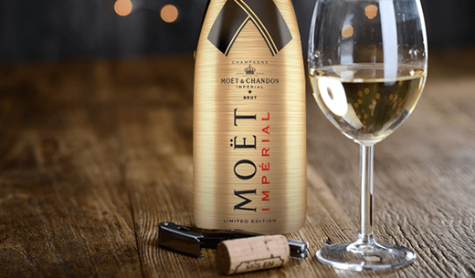 Review the Moët & Chandon Gold Limited Edition Brut Imperial champagne