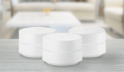 Review a Google Wi-Fi Home System (Pack of two)