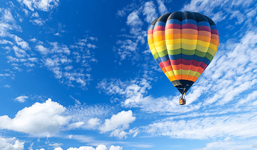 Review a Hot Air Balloon experience for two