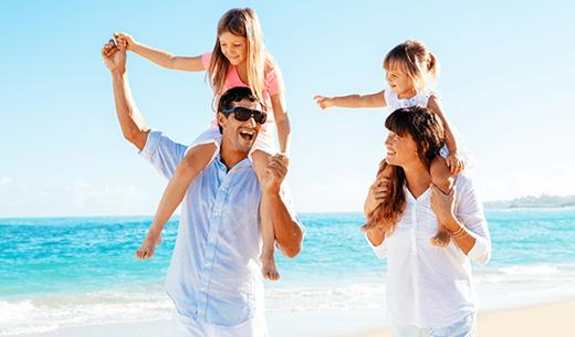 Win family travel insurance for twelve months