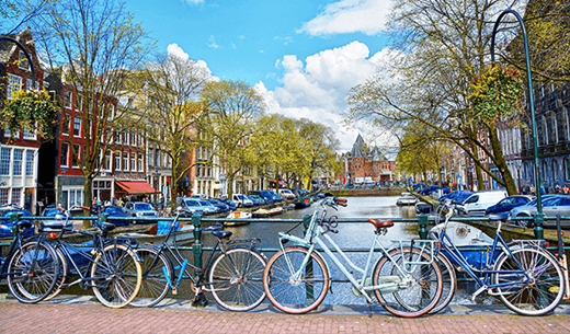 Win a weekend away to Amsterdam