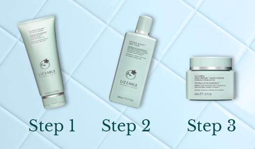 Liz Earle's 3 Step Skin Routine - 3 Reviewers Required