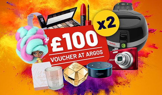 Spend £100 at Argos and tell us what you think