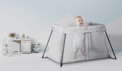 Tell Us What You Think of Baby Bjorn's Travel Cot Light