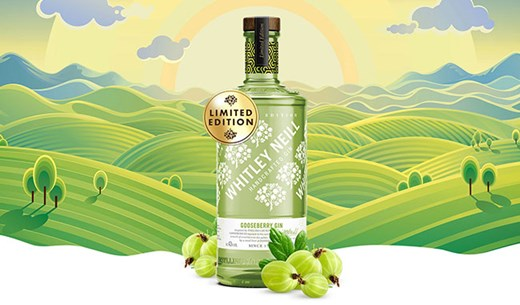 Apply to be a Taste Tester - Limited Edition Gooseberry Gin by Whitley Neill