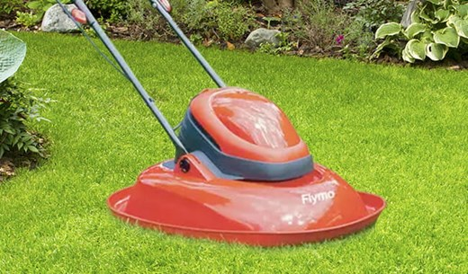 Review the Flymo Turbo Lawnmower