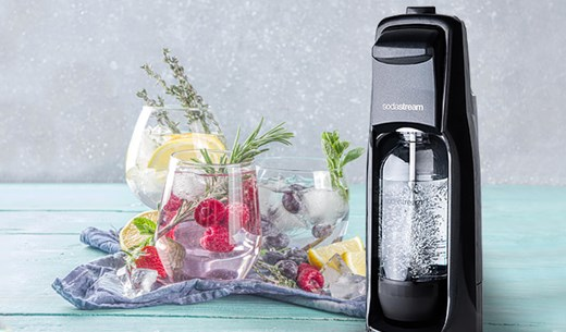 Make your own drinks with your very own SodaStream