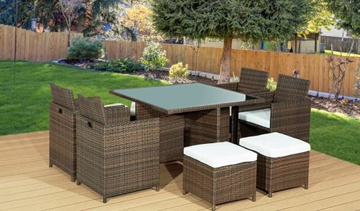 Win a 9 Piece Rattan Furniture Set for your Garden