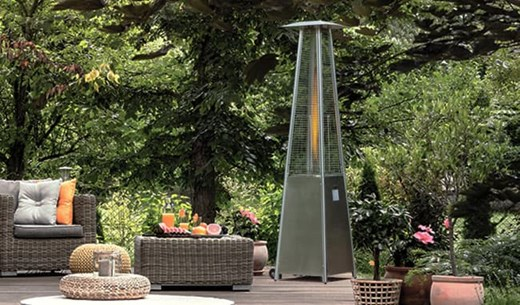 Win an Gas Flame Heater for your Garden