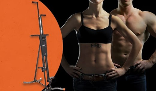 Get fit with the MaxiClimber - Enter to Win