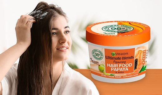 How good is the Garnier's Ultimate Blends Hair Food Papaya 3-in-1 Hair Mask? (3 Product Testers Required)