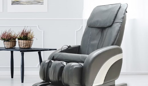 Your opportunity to try the reclining chair that gives you a full body massage