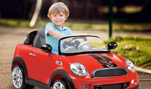 Help us review the Kids Red Mini Cooper 6V Ride On with Remote Control