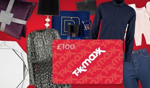 £100 TK Maxx Voucher - Become a mystery shopper