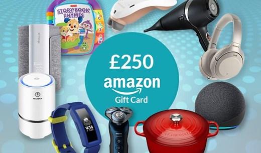 Win a £250 Amazon voucher