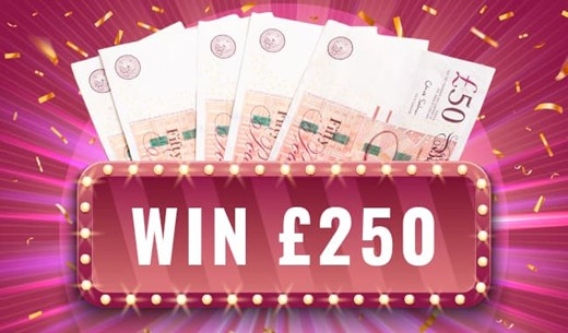 Win £250 Cash from MyOffers