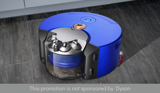 Review and keep the Dyson 360 Heurist Robot Vacuum