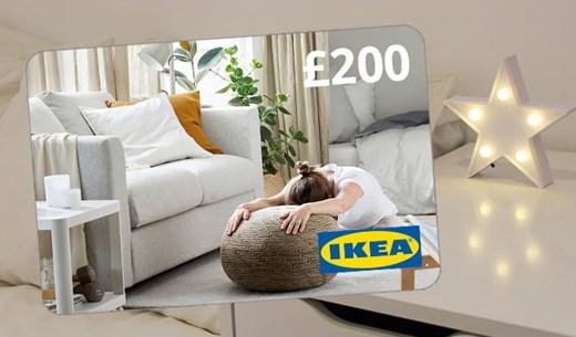 Win a £200 Ikea gift card