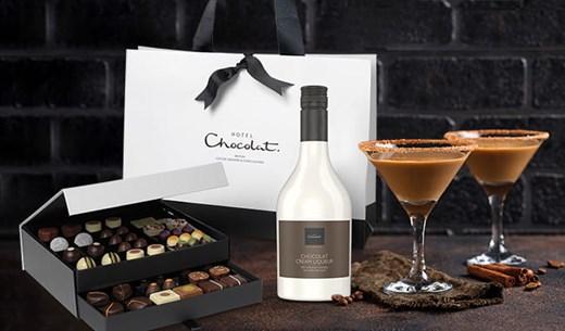 Taste test The Hotel Chocolat Classic Cabinet with Chocolat Cream Liqueur