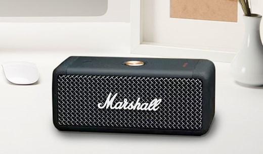 Test and keep the Marshall Emberton Portable Bluetooth Speaker