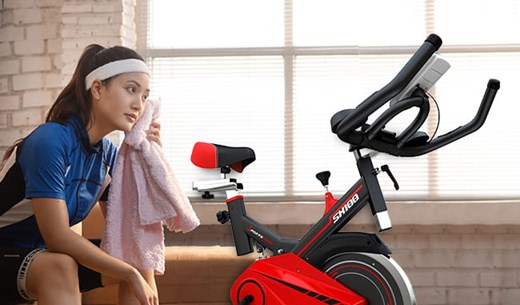 Working out in your own home with a Speedbike
