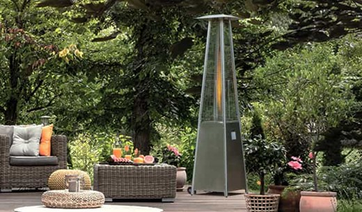Win a Gas Flame Heater for your Garden
