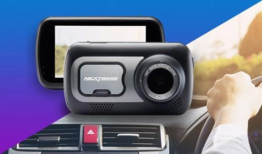 Win a Nextbase 522GW Dash Cam