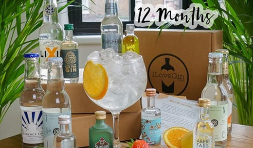 Make your own Gin at home with a 12-month subscription