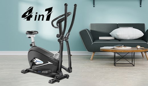 Get in shape with the Neezee 4-in-1 cross trainer